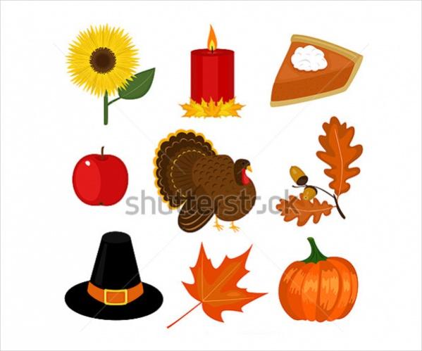 Vector Thanksgiving Clipart