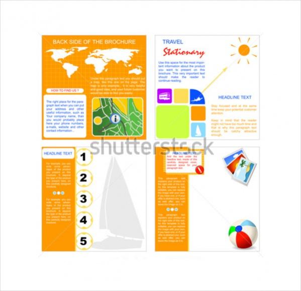 Vector Travel Brochure
