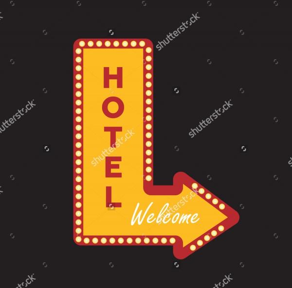 Vintage Hotel Banner