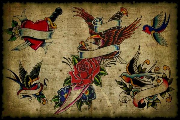 Vintage Tattoo Design