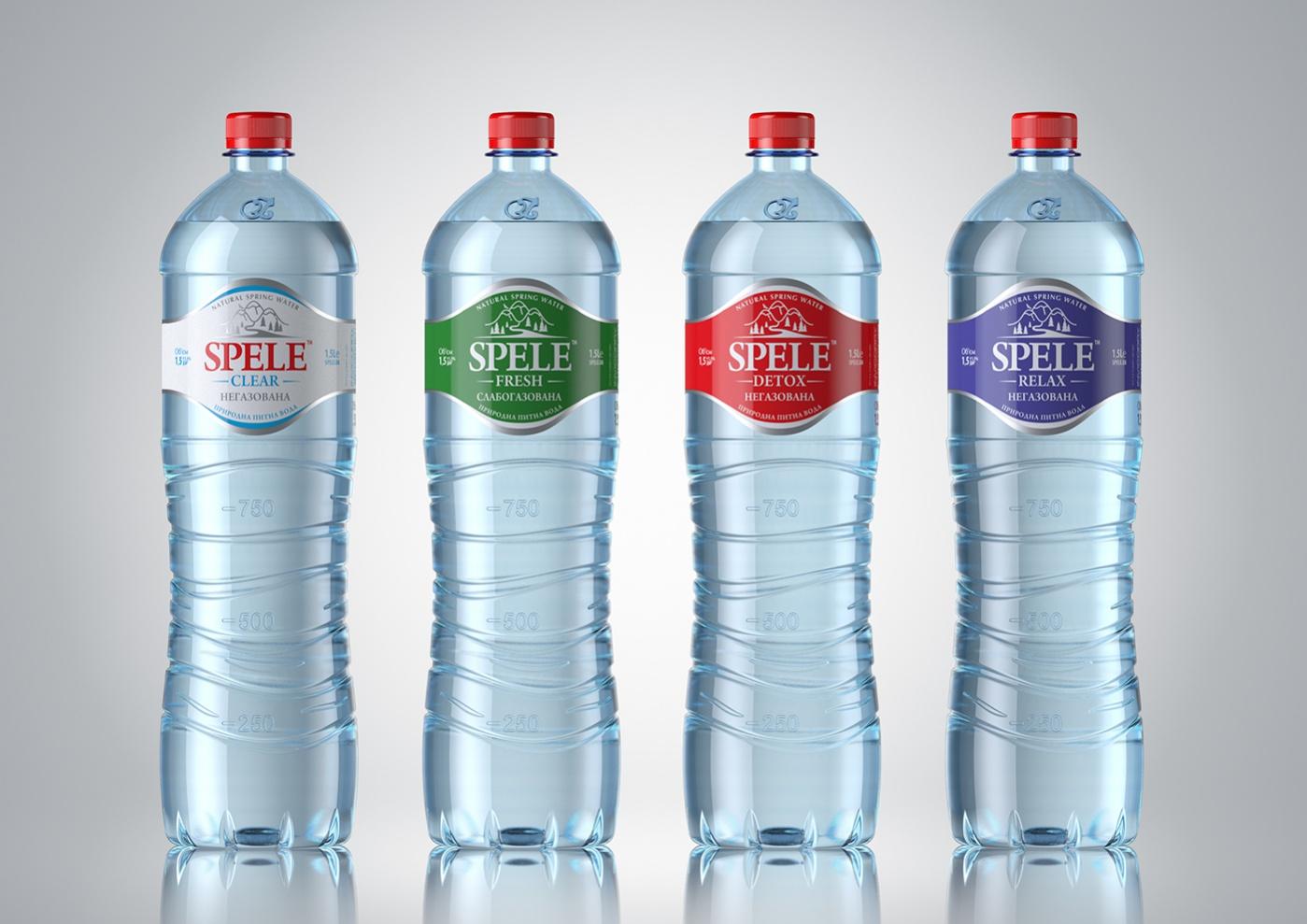 Water Bottle Packaging Design