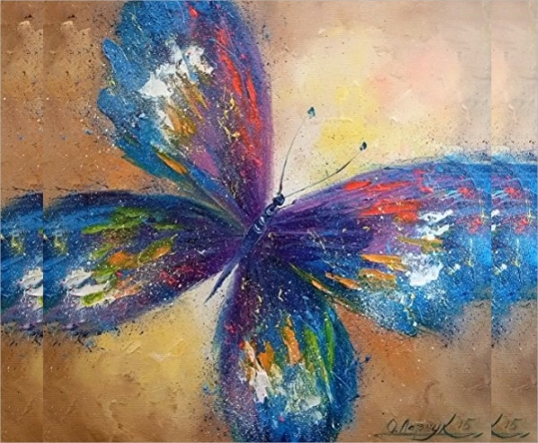 Watercolor Butterfly Paintings