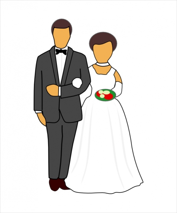 Wedding Couple Clipart