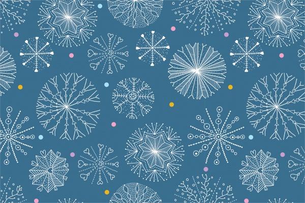 winter-snowflake-pattern-design