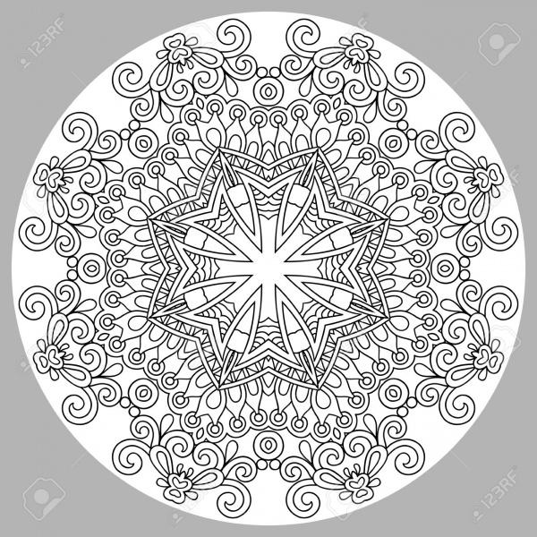 Zentangle Mandala Pattern