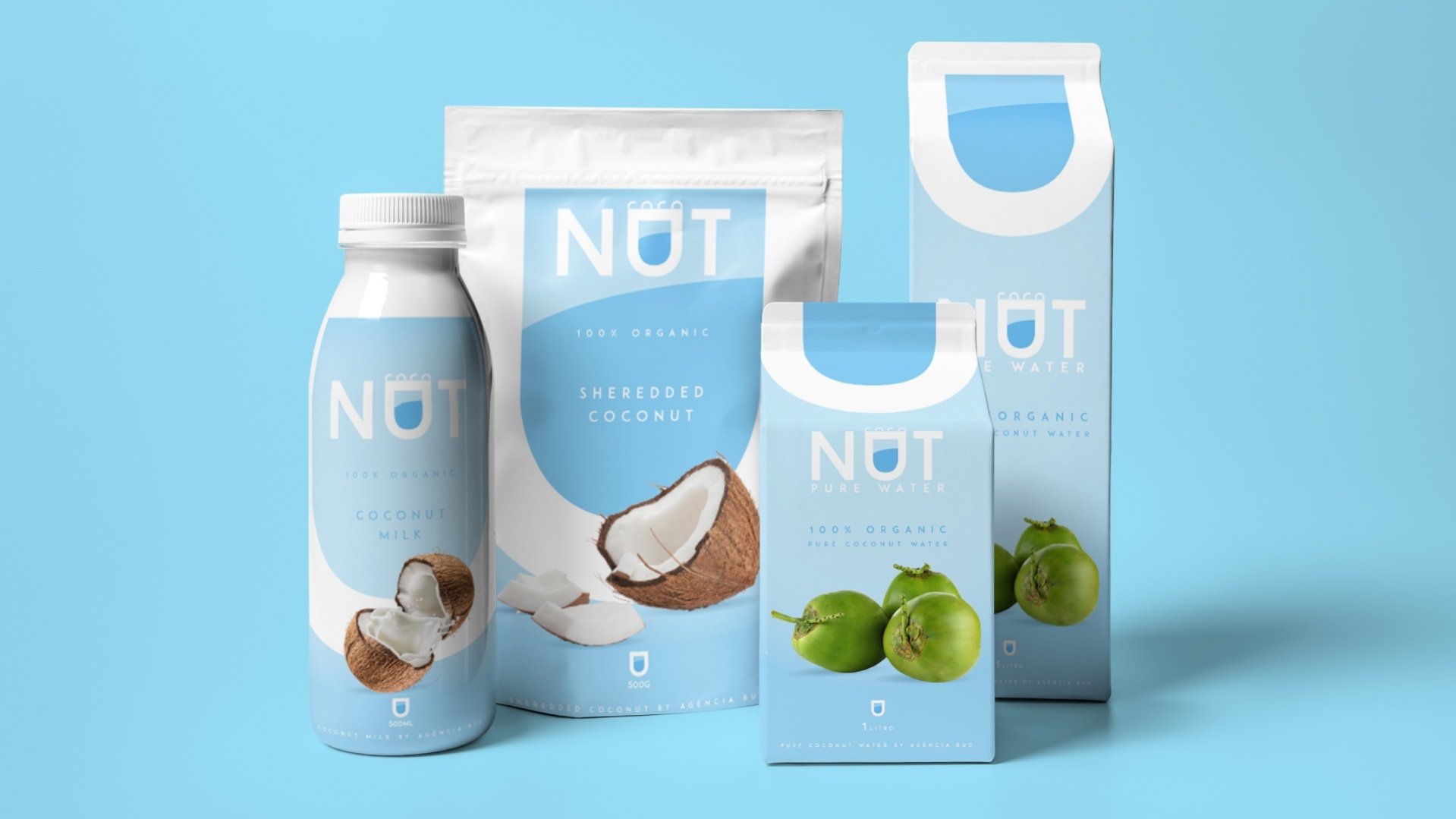 Coconut Pure Water Packaging