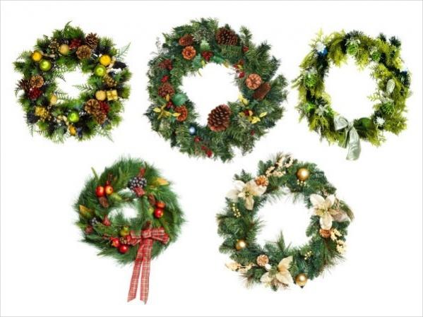 christmas wreath photos
