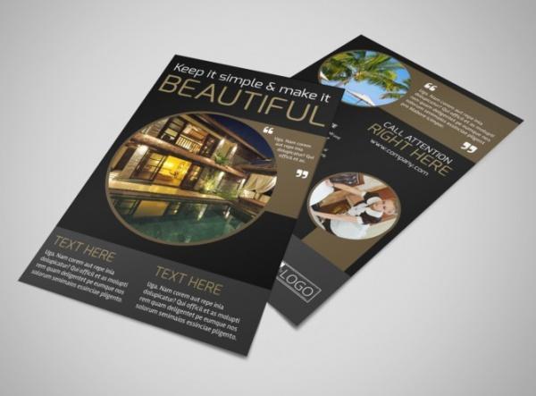 Promotional Hotel Flyer Design