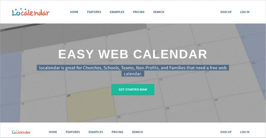 Localendar - Free Online Calendar