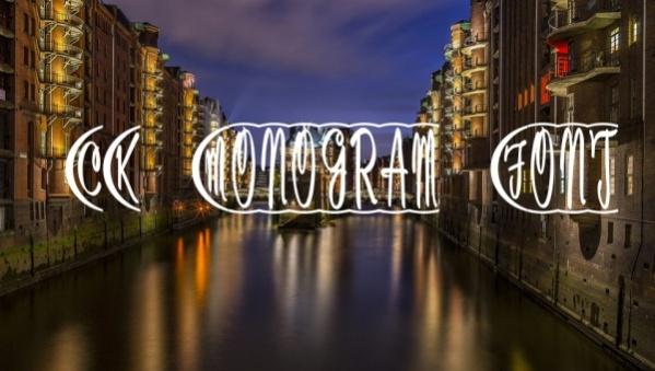 15+ Free Monogram Fonts - OTF, TTF Download
