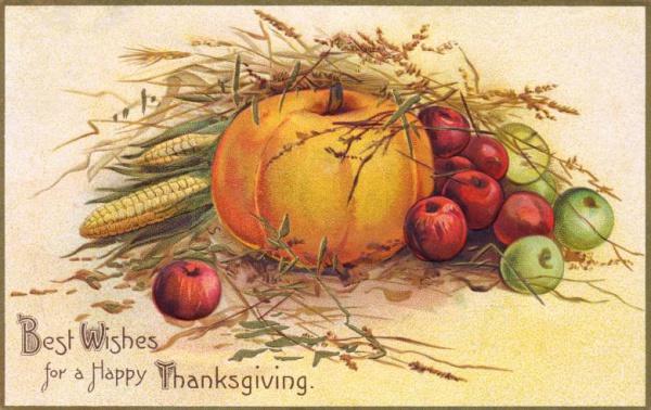 Free Vintage Thanksgiving Image