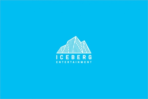 stunning Iceberg Entertainment logo