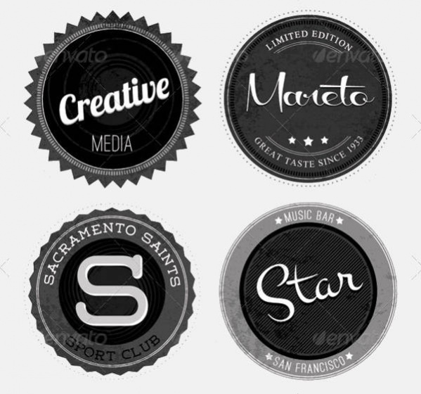 20 Rounded Logo Shapes