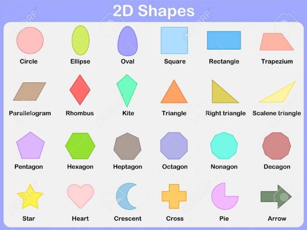 2D Shapes for Children