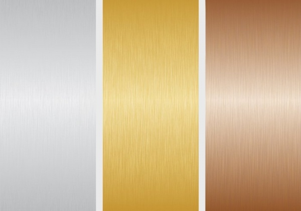 3 Metal PSD Vector Textures
