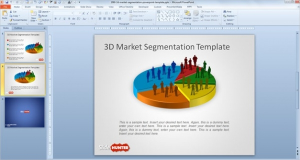 3D Marketing Presentation