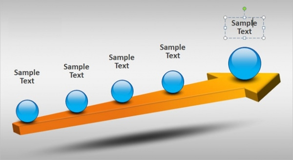 3D Timeline Powerpoint Presentation