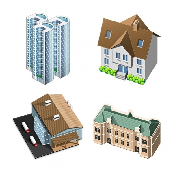 3d Home Icon