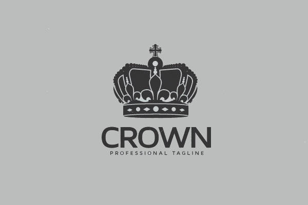 Abstract Crown Logo