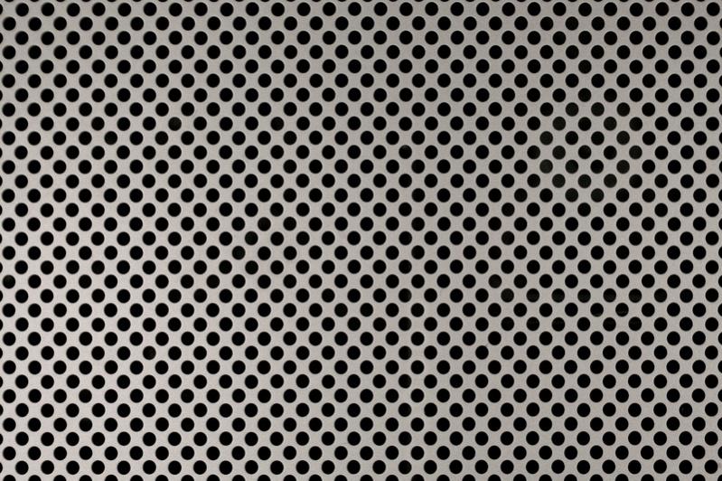 Aluminium Perforated Metal Texture