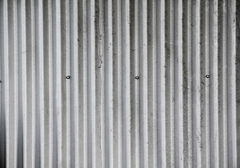 Aluminum Rippled Metal Texture