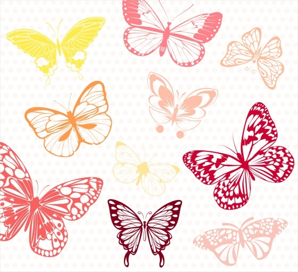 Amazing Butterfly Clipart