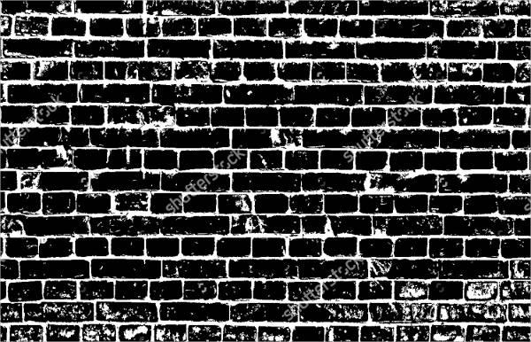 Ancient Brick Wall Pattern