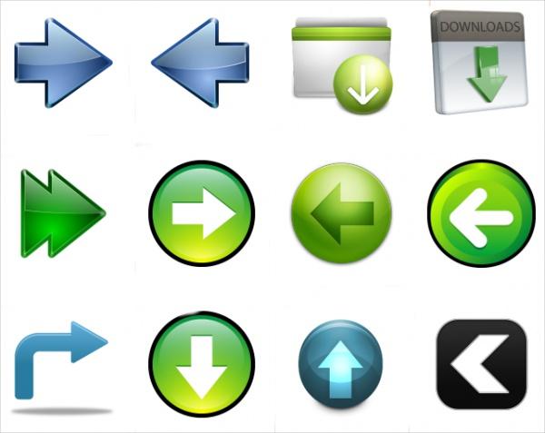 Animated Arrow Icon