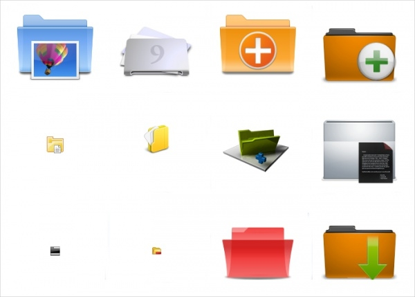 Animated Folder Icons
