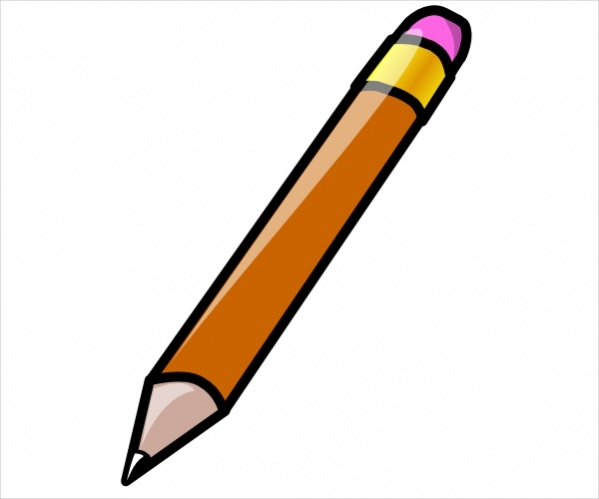 Animated Pencil Clipart