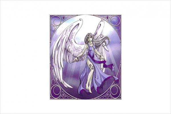 Anime Angel Drawing