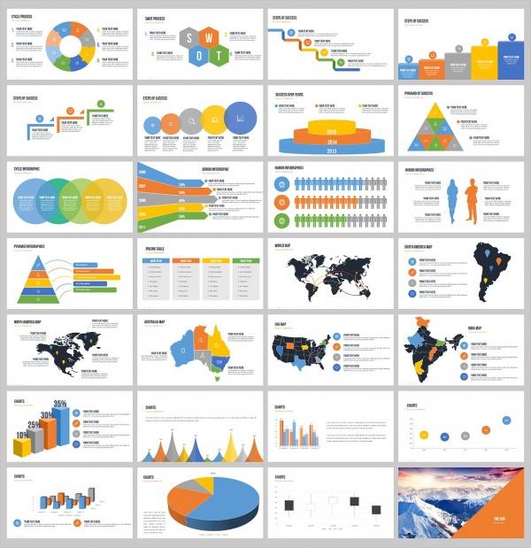 40 presentations psd ppt pptx download