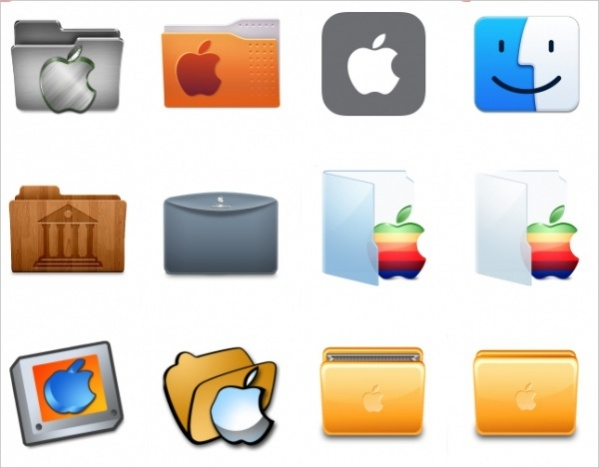 Apple Folder Icons