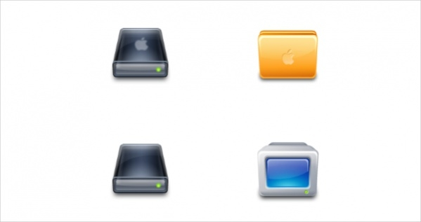 Apple Folder icons For Free