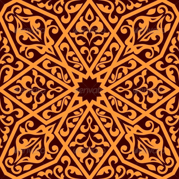 Arabian Semless Tile Pattern