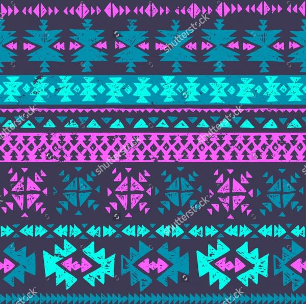 Aztec Navajo Seamless Pattern