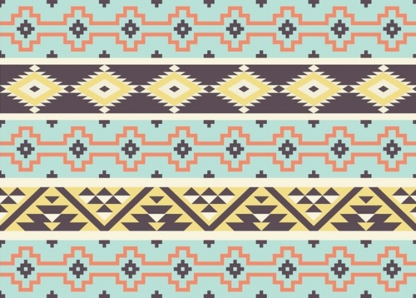 Aztec Tribal Patterns