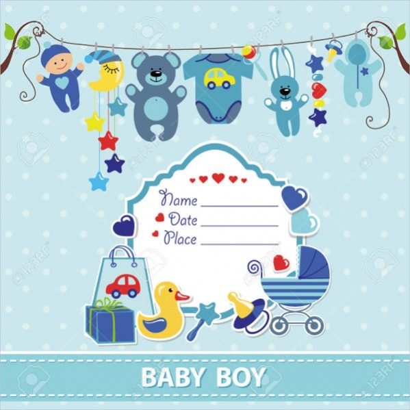 Baby Shower Arrival Card