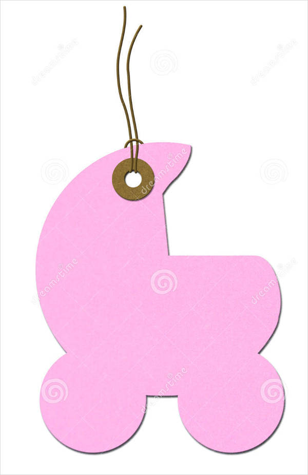 Baby Shower Gift Tag