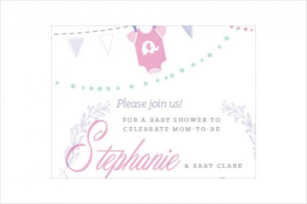 Baby Shower Invitation Banner