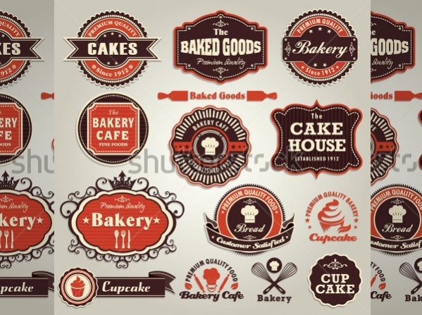 Bakery Product Label