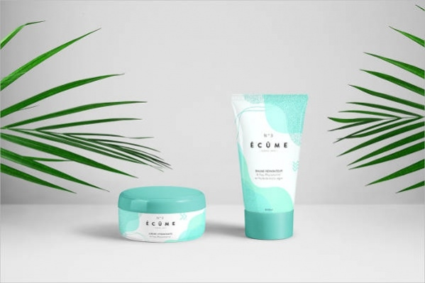 Beautiful Cosmetic Packaging Design