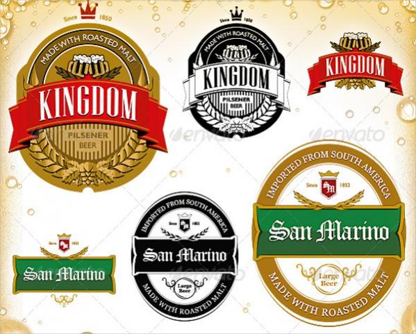 Beer Label Designs