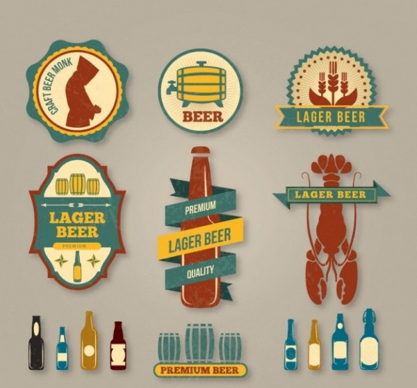 Beer label pack