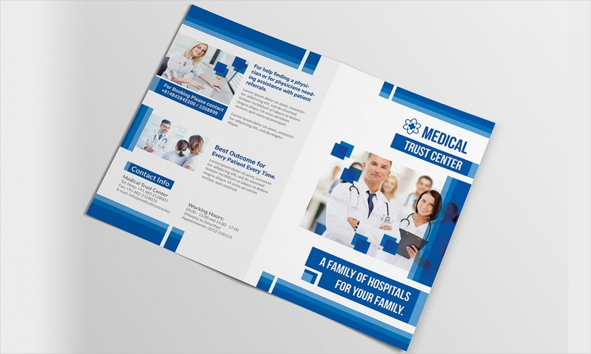 Bi- Fold Brochure Design