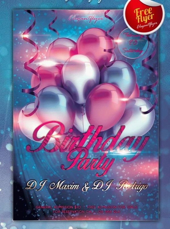 party flyers maker