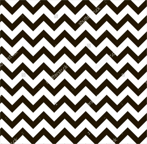 Black and White Chevron Pattern
