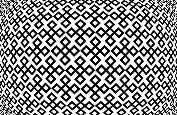 Black and White Convex Pattern