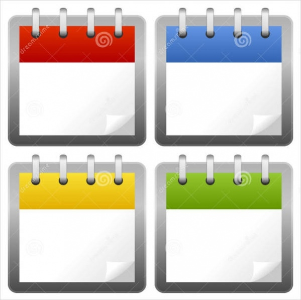 Blank Calendar Icon Green : Blank calendar icon imgkid the image kid has it