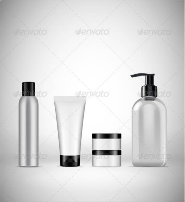 Blank Cosmetic Packaging